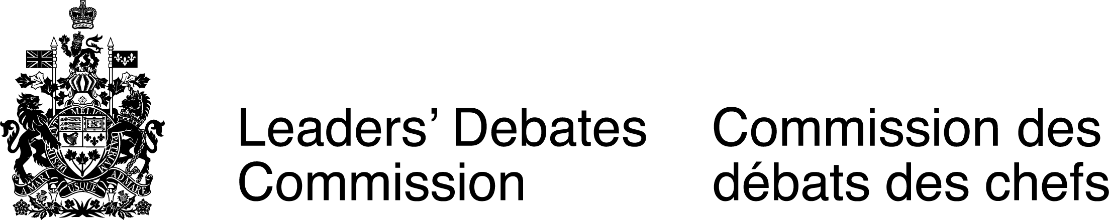Leaders' Debates Commission Logo