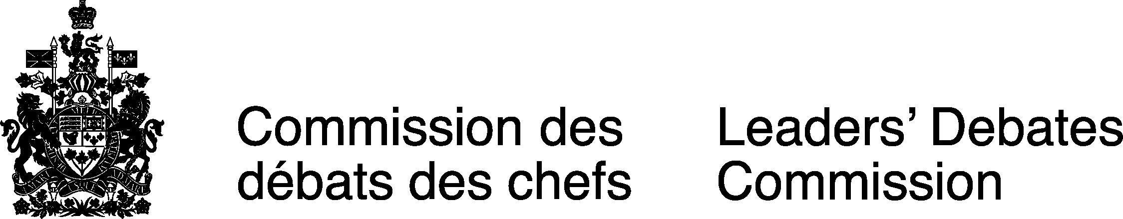 Logo de la Commission des débats des chefs