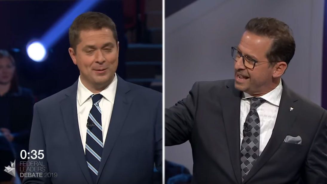 Yves-François Blanchet debates equalization to Quebec with Andrew Scheer
